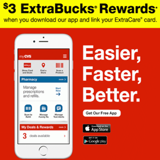 2e04763f FREE ECBs (up to $5) from CVS Possible with App Download -