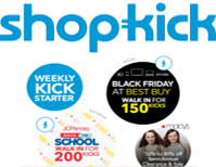 Shopkick – Easy 350 Points this Weekend