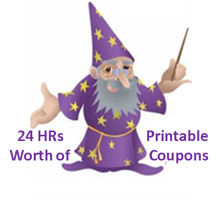 24 Hours of New Printable Coupons
