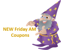 New Printable Coupons for Friday 12/11