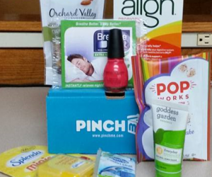 Free Samples Boxes from PINCHme 12/15