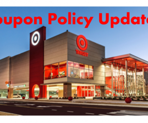 Target Coupon Policy Updates – Ut Oh!