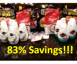 Target Trip on 8/26 with 83% in Savings!