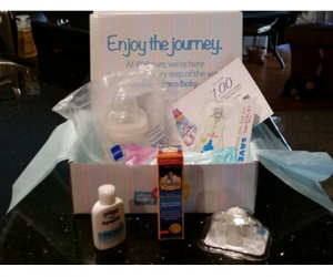 Freebie Alert – Walmart Welcome Baby Box!