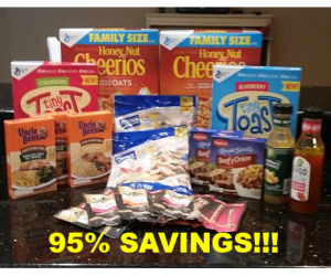 Publix Trip on 9/16 with 95% Savings on $46!