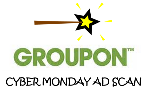 Groupon Cyber Monday Ad Scan