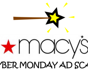 Cyber Monday Macy's Ad Scan for 2017