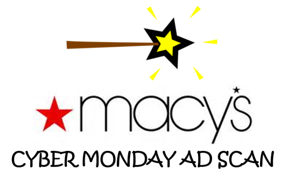 Macy's Cyber Monday Ad Scan
