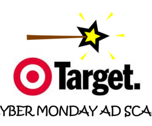 Cyber Monday Target Ad Scan for 2017