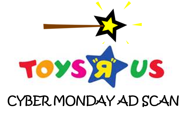 ToysRUs Cyber Monday Ad Scan