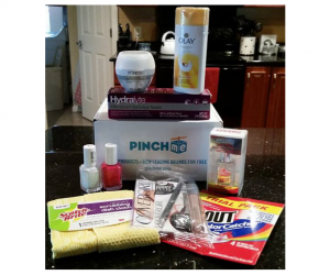 PINCHme – Free Samples Boxes from PINCHme 2/28