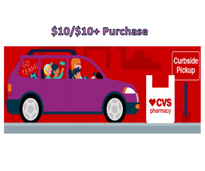 CVS Deal Alert – $10 off $10+ Purchase