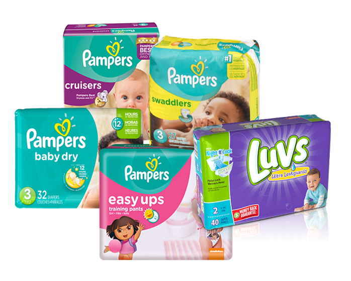 Various Pampers Printable Coupons