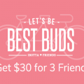 Ibotta Bonus – $30 for 3 Friends