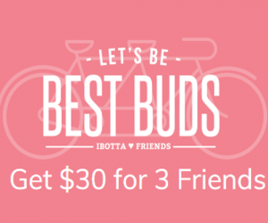 Ibotta Bonus for 3 Friends FI Only