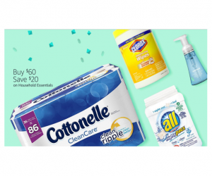 Household Items – SAVE $20 on $60+ on Amazon