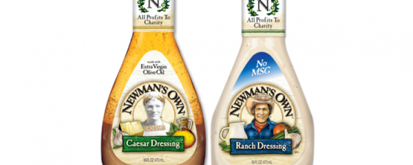 Newman's Own Salad Dressings new