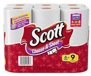 Printable Coupon – SAVE $0.75 on Scott Towels