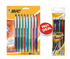 Walgreens Deal Alert – BIC Pens & Pencils $0.49 Each