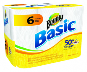 Printable Coupon – SAVE $1 on Bounty Basic