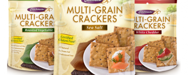 Crunchmaster Multigrain Crackers new