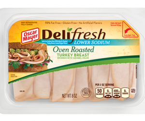 Printable Coupon – SAVE $0.75 on Oscar Mayer Deli
