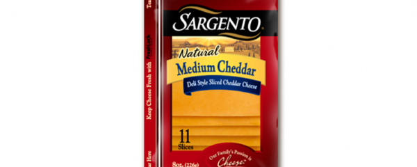 Sargento Cheddar Cheese Slices new