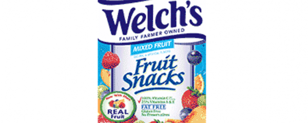Welch's Fruit Snacks new
