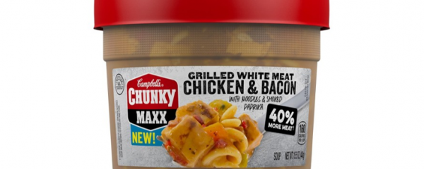 Campbell's Chunky Maxx Soup new
