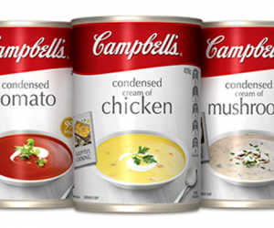 Printable Coupon – SAVE $1 on Campbell's Condensed Soups