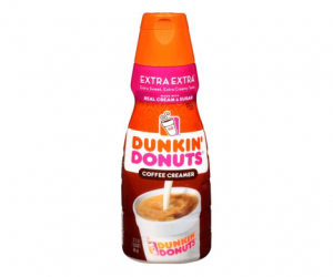 Printable Coupon – SAVE $0.75 on Dunkin Donuts Creamer