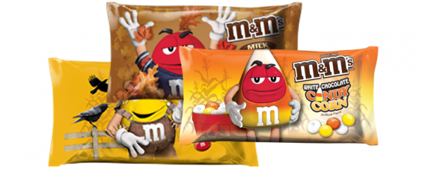 Halloween M&M's new