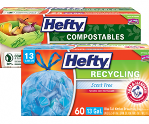 Printable Coupon – SAVE $1 on Hefty Recycling Bags