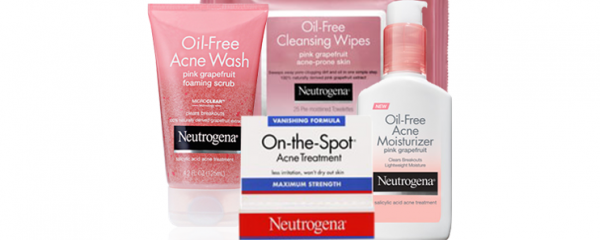 Neutrogena Acne & Cleansing Products new