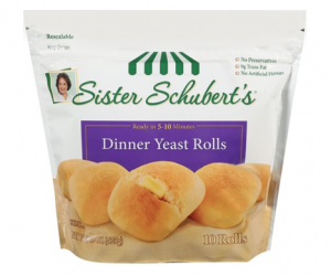 Printable Coupon – SAVE $0.75 on Sister Schubert's