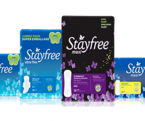 Printable Coupon – SAVE $3 on Stayfree Products
