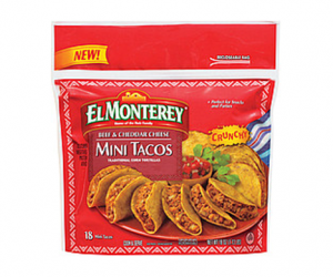 Printable Coupon – SAVE $0.75 on El Monterey Mini Tacos