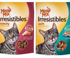 Printable Coupon – SAVE $1 on Meow Mix Cat Treats