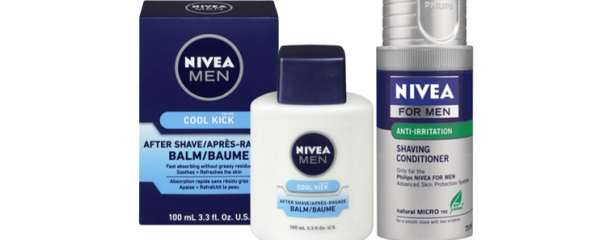 Nivea Men's Shave Products new