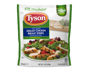 Printable Coupon – SAVE $1.25 on Tyson Grilled & Ready