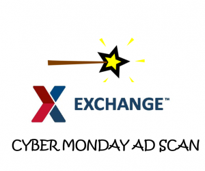 Cyber Monday AAFES Exchange Ad Scan 2017