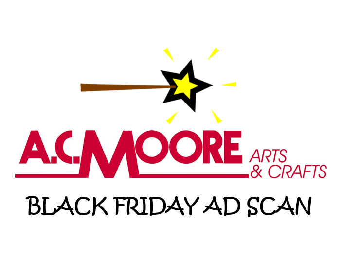 AC Moore Black Friday Ad Scan