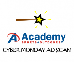 Cyber Monday Academy Sports Ad Scan 2017