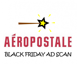 Black Friday Aeropostale Ad Scan for 2017