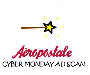 Cyber Monday Aeropostale Ad Scan 2017