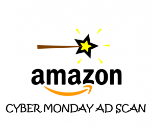 Cyber Monday Amazon Ad Scan for 2017
