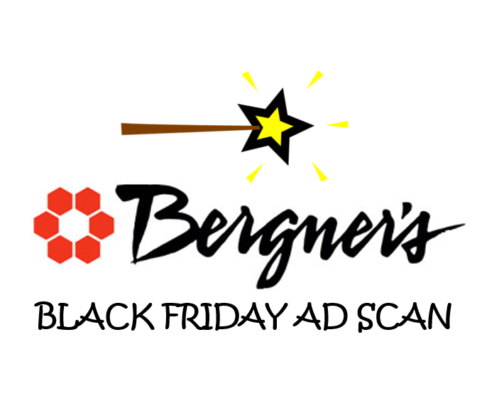 Bergner's Black Friday Ad Scan