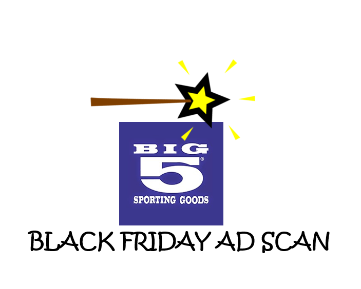 Big 5 Sporting Goods Black Friday Ad Scan