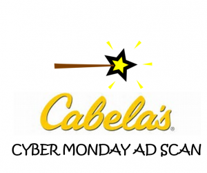 Cyber Monday Cabela's Ad Scan for 2017