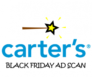 Carter's Black Friday Ad Scan